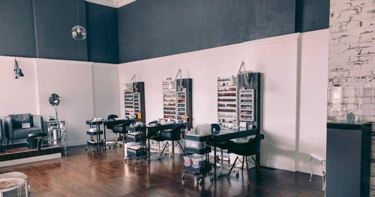 Dana Nail Junkie interior of nail salon