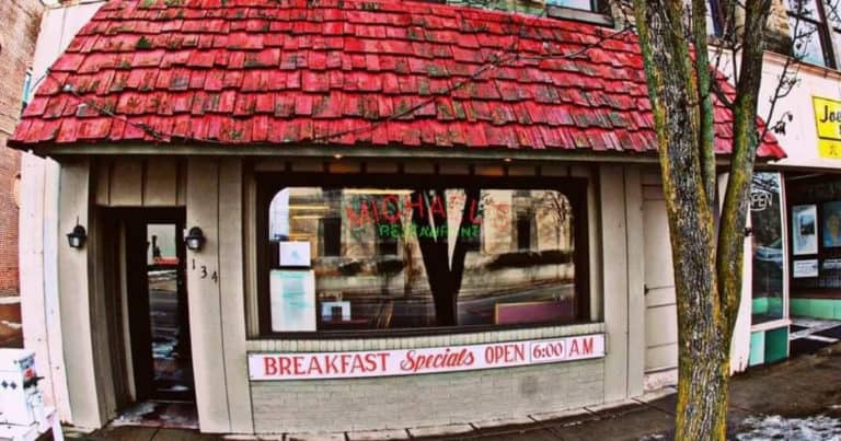 Exterior image of Michael's Restaurant