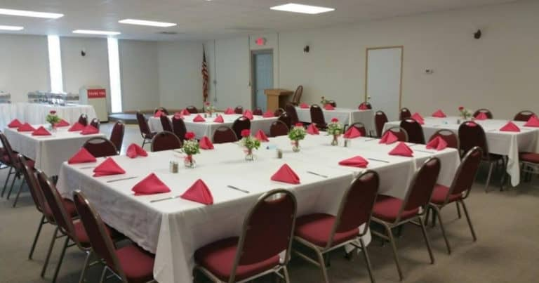Banquet room at Ricardos