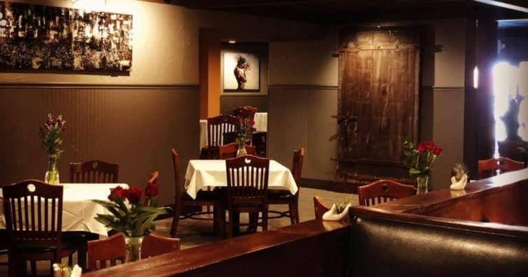 Interior image of the Venue restaurant