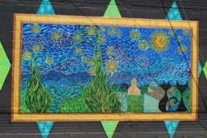 Starry Night Over New Philadelphia Mural